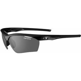 Tifosi Vero Glasses gloss black - smoke/AC red/clear